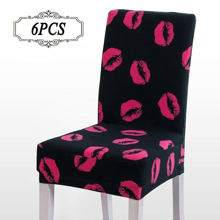 China Sale 6Pcs Spandex Stretch Dining Chair Covediscount Wedding Chair Covers Banquet Folding el Chair Covering