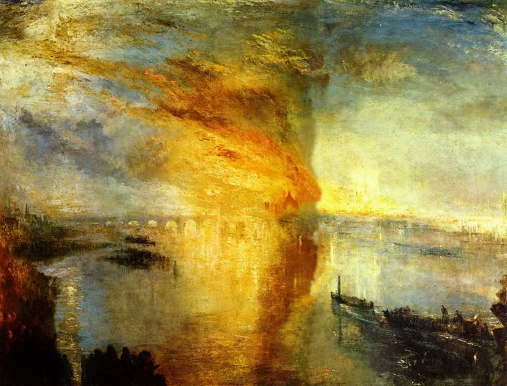 Joseph Mallard Willam Turner - Burning of Lords Commons