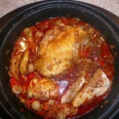 Marokkanisches Huhn | Marokkanisch Essen