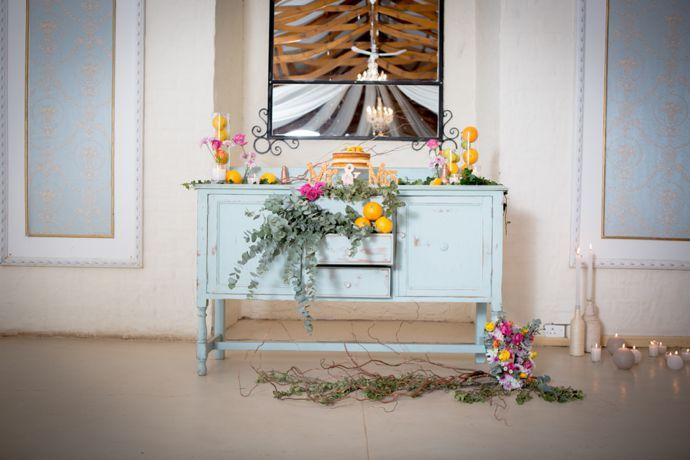 Citrus and Copper Wedding Inspiration
