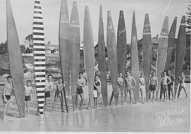 Southies surf club boys of the early 50's