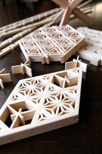 日本の伝統組子細工 - Backsteinofen