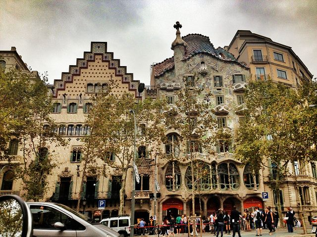 ...and I love your Gaudi awesomeness, Barcelona!