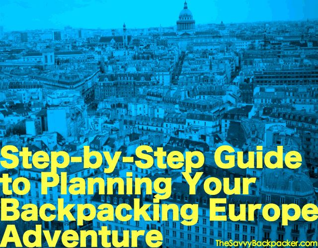how to travel europe cheap and alone