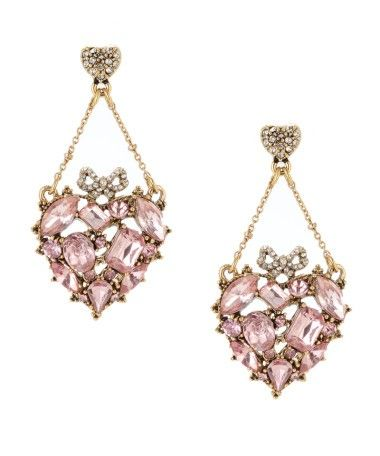 LOVE these Betsey Johnson earrings!