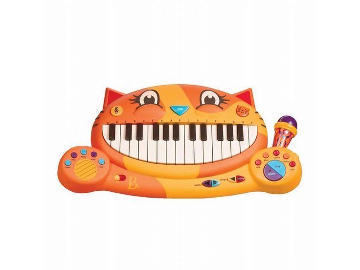 Piano, katt med rytmer og lyder