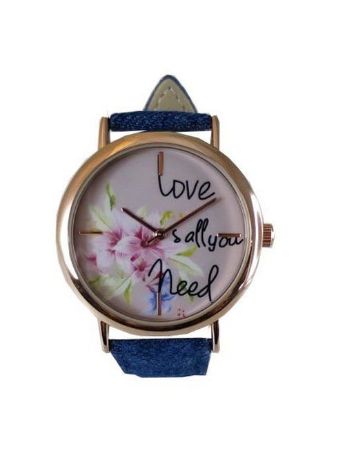 Ceas Dama Crystal Blue - All You Need is Love