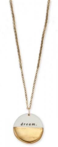 Dream 18-K Gold Dipped Necklace