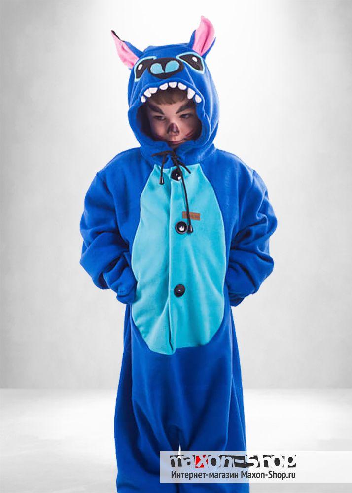 Пижама Стич детский костюм кигуруми в магазине Максон  c512e0de5777a