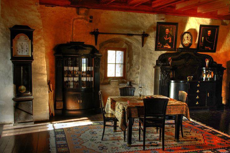 Inside Room Orava Castle Slovakia Orava Castle Stands
