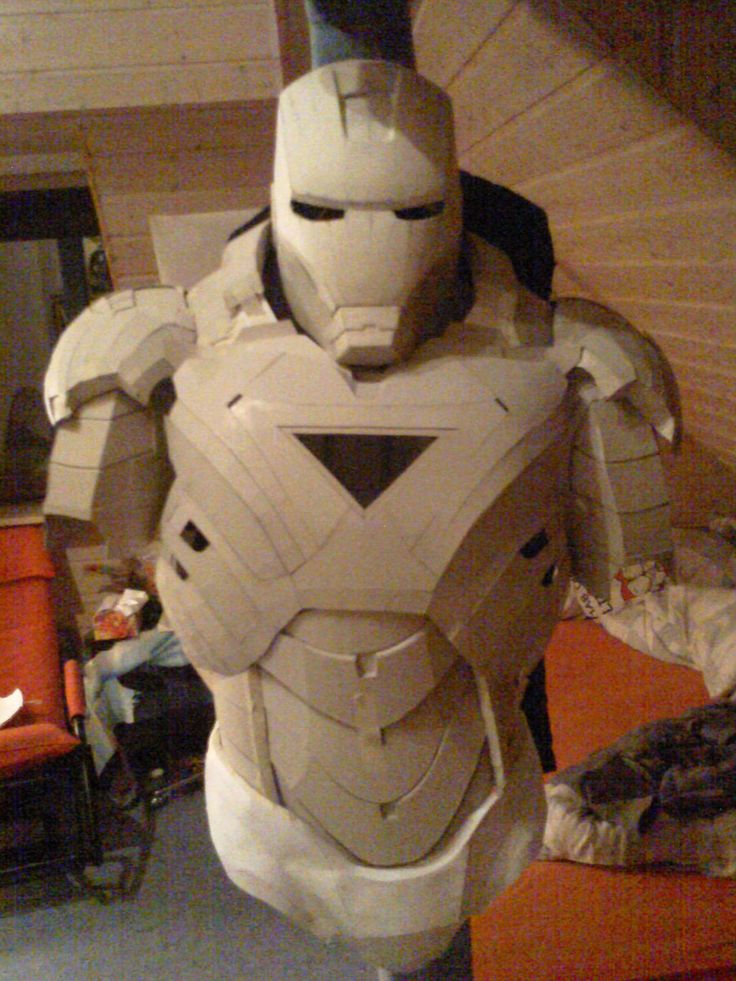 iron man cardboard armor preview 1 by bullrick deviantart