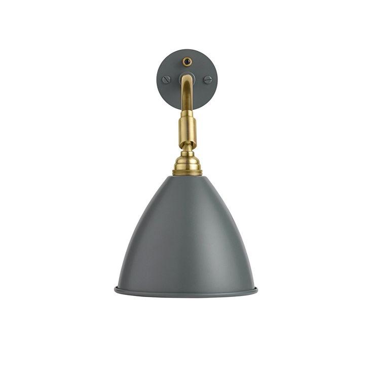 BestLite Væglampe BL7 - messing/grå