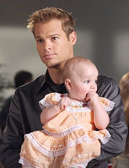 George Stults as Kevin Kinkirk on 7th Heaven. There is nothing hotter than seeing him hold a baby !