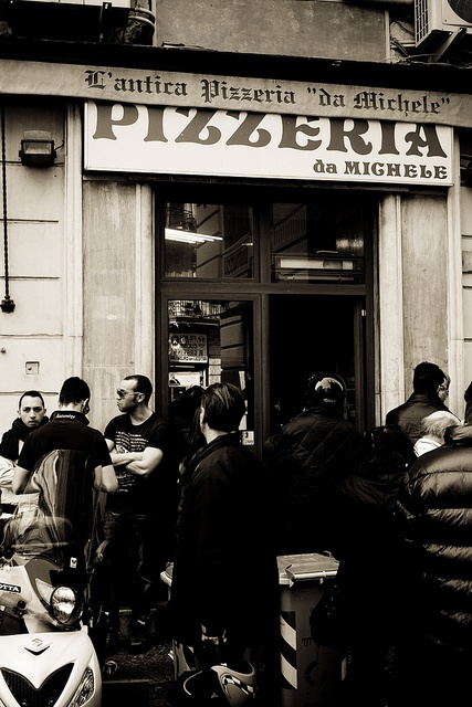 L'antica Pizzeria da Michele - THE best pizza we have ever tasted. We went twice in one day. It was that good.
