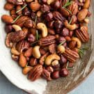 Try the Candied Mixed Nuts with Rosemary Recipe on williams-sonoma.com/