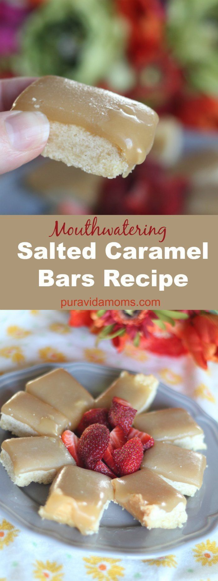 Delicious salted caramel bars recipe