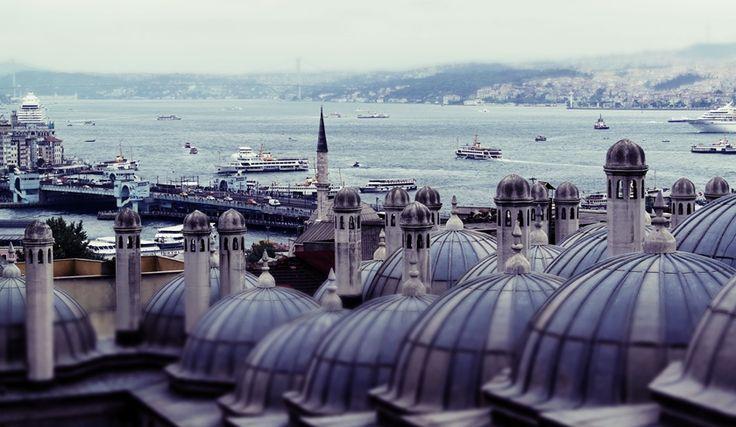 from garden of Süleymaniye Mosque. #istanbul