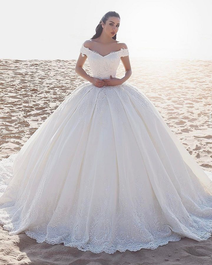 Beautiful Princess Wedding Gowns: 21 Princess Ball Gown Wedding Dresses Fit For A Fairytale