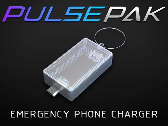 PulsePak - World's Smallest Smartphone Battery Charger by Blade Electronics, LLC — Kickstarter