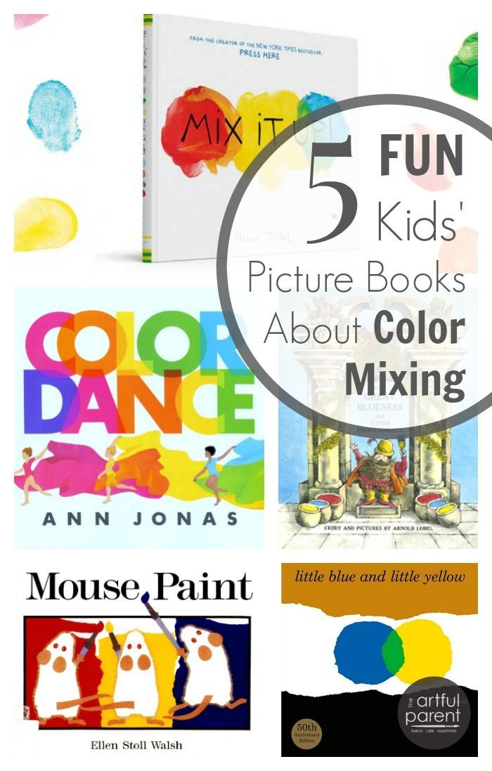 7 color mixing activities for kids plus 5 fun picture books - Colour Activities For Kids
