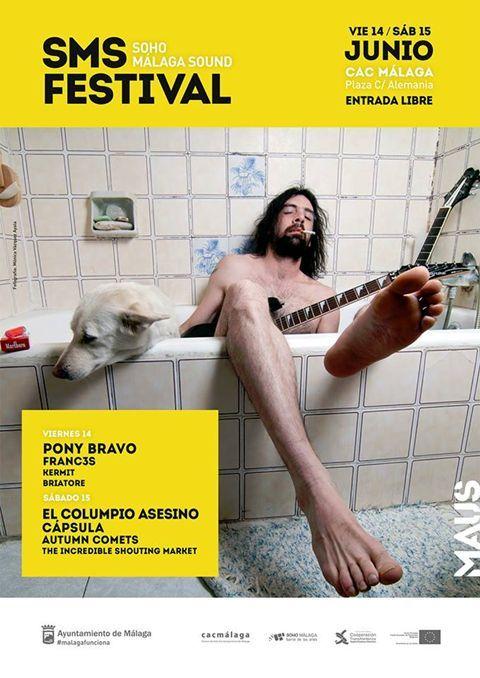 Soho Malaga Sound Festival - Free music festival in Malaga on Friday 14, Saturday 15 June.