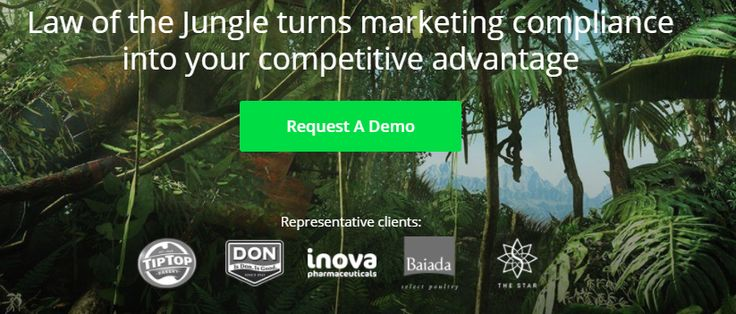 Law of the Jungle Marketing is advanced cloud technology and expert know-how that makes marketing compliance easy, fast and reliable.
