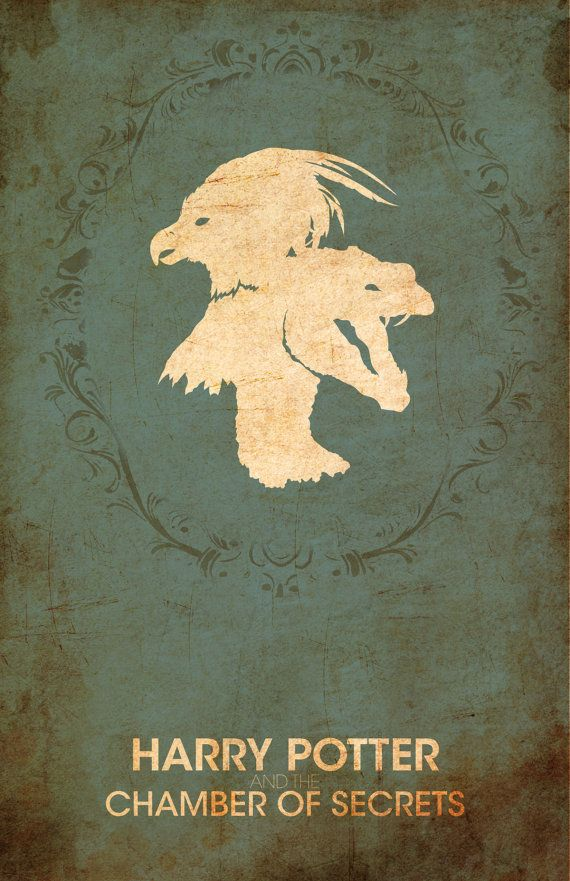"""Vintage Harry Potter Movie Poster - """"The Chamber of Secrets"""":"""