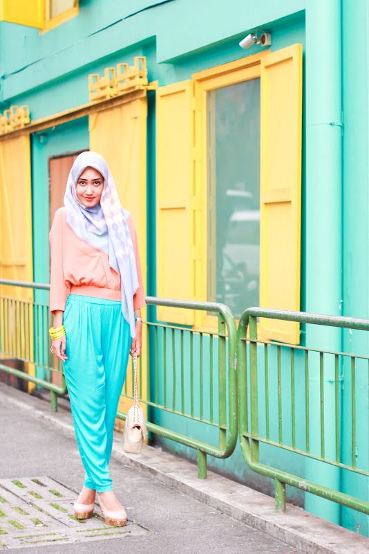 Summer Candy - Dian Pelangi I love pastels so much as Dian wears very cheerful and delighted.