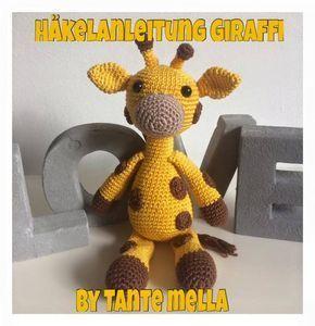 Klicke um das Bild zu sehen.  Süße Giraffe häkeln.   Anleitung Kostenlos  Deu…