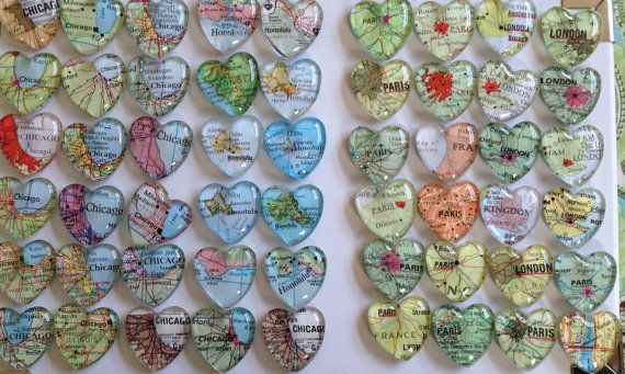 25 Out Of The Box Ideas For Your Destination Wedding: 100 Wedding Favors Magnets (100 Individually Wrapped