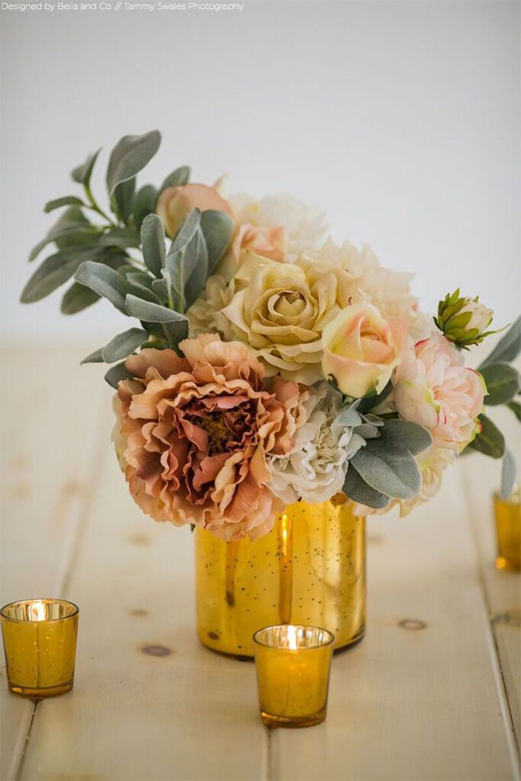 Best gold vases ideas on pinterest diy decorate