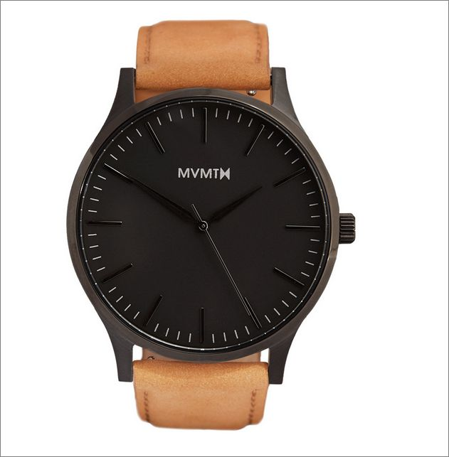 The 40 - Black/Tan Leather