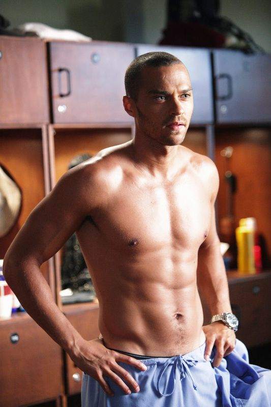 Dr Jackson Avery (Jessie Williams), Grey's Anatomy  This is the most in love I've ever been in my entire life.