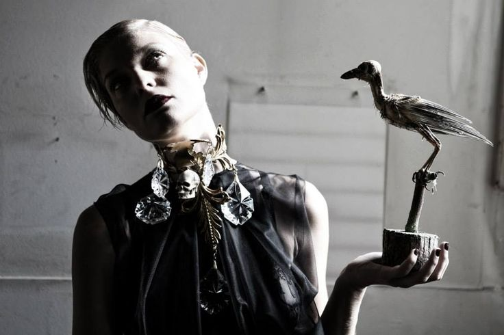 """CREDITS Photos by Mara Desipris Concept - Styling: Mara Desipris  & Pericles Kondylatos  Model: Anastasia Perraki """"Black Death"""" Jewellery Collection by Pericles Kondylatos Clothes by Deux Hommes Hair & Make-up: George Valvis First Publish  by http://www.unnouveauideal.typepad.com/ December 2013 See it also here: http://www.filepmotwary.com/motwary/2013/12/black-death-jewellery-collection-by-pericles-kondylatos.html See more about Deux Hommes: http://www.deuxhommes.gr/"""