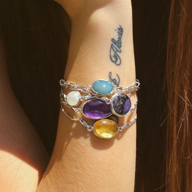Handmade Gemstone  Bracelets  by kastoni jewels