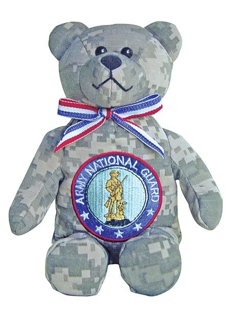 Army National Guard Stuffed Military Bear