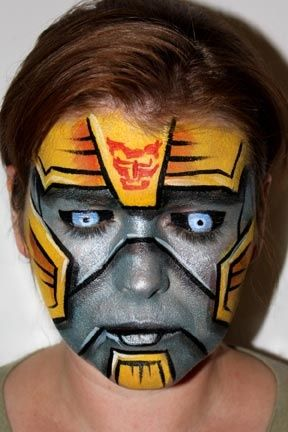 "bumblebee face painting ideas for kids | Planning My Sons ""6th ..."