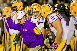 Is LSU's Les Miles coaching to save his job?