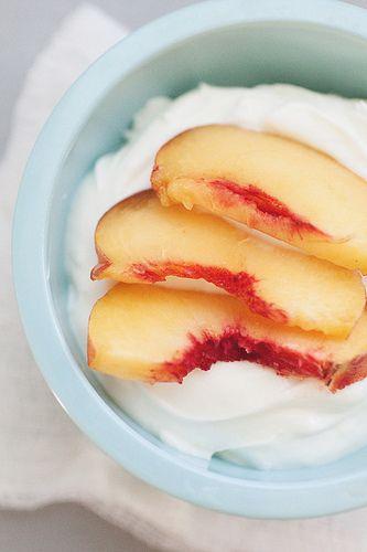 easy peasy make your own Greek yogurt..using skim milk for 0 fat here....