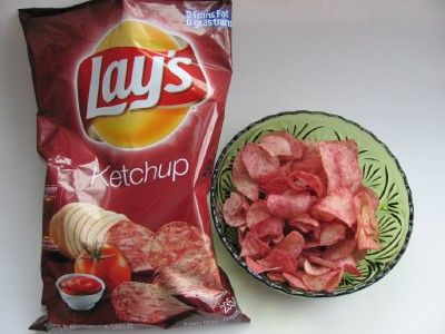 NOT my favorite OR my best. NOT even ones I'd want to like. ~ketchup chips~