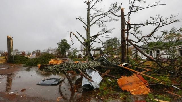 Tornadoes and storms kill five in US South (& 5 children injured in 24 Hour Daycare)