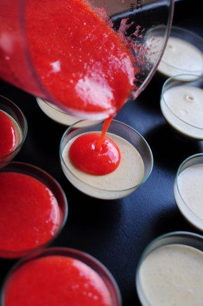 Panacotta Spéculoos et fraises - La popotte de Manue