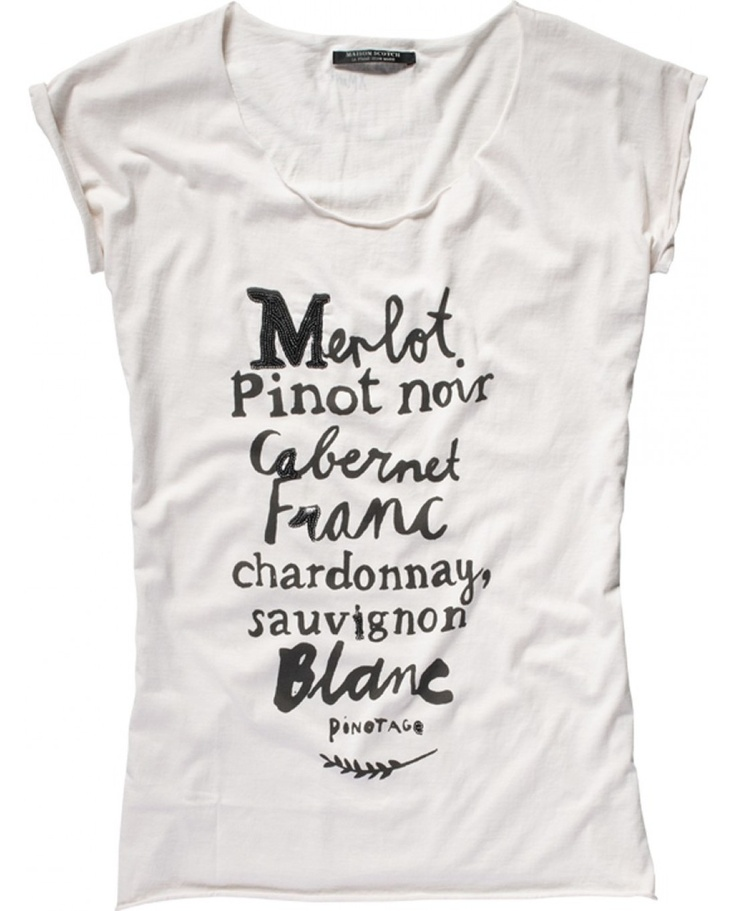 Maison Scotch - French Themed Tee
