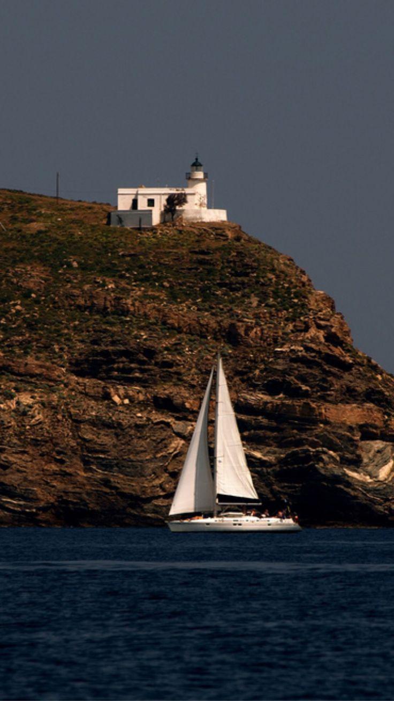 Tamelos Lighthouse, Tzia, Greece- by Anestis_