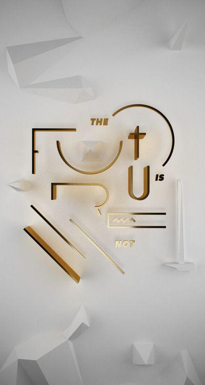 #typo #typography #future #3d