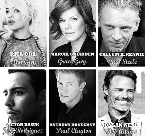 Fifty Shades cast