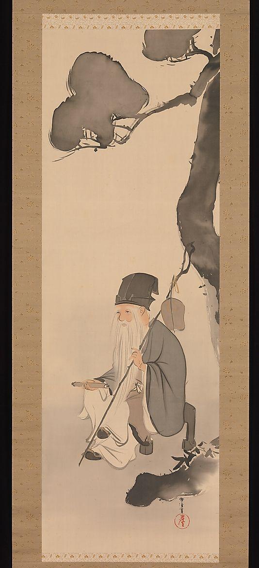 Jurōjin--Kamisaka Sekka (1866–1942)