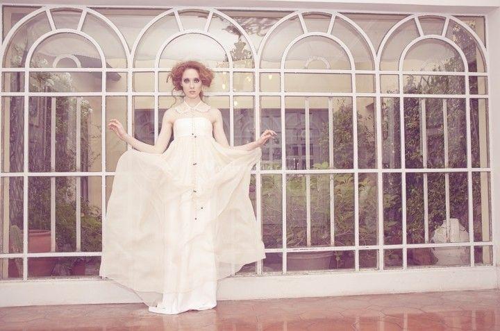 Abito Sposa della collezione Spose Ceraunavolta di Sarah Taschin