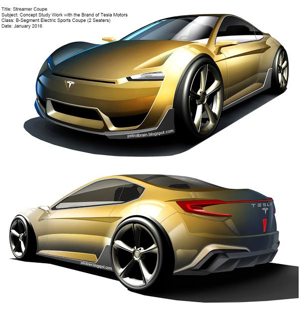 Transportation Design: Streamer Coupe concept