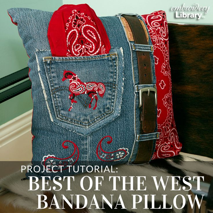 Embrace your Western side with this tutorial from Embroidery Library.